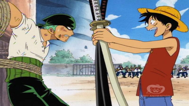 Kwikku, Luffy udah niat rekrut Zoro bahkan sebelum bertemu