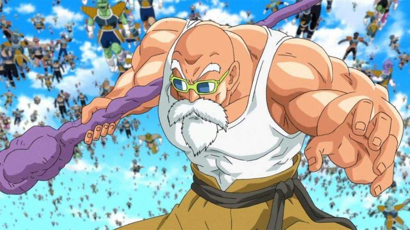 Kwikku, Muten Roshi alias Kamesennin Dragon Ball   tahun saat Dragon Ball Super
