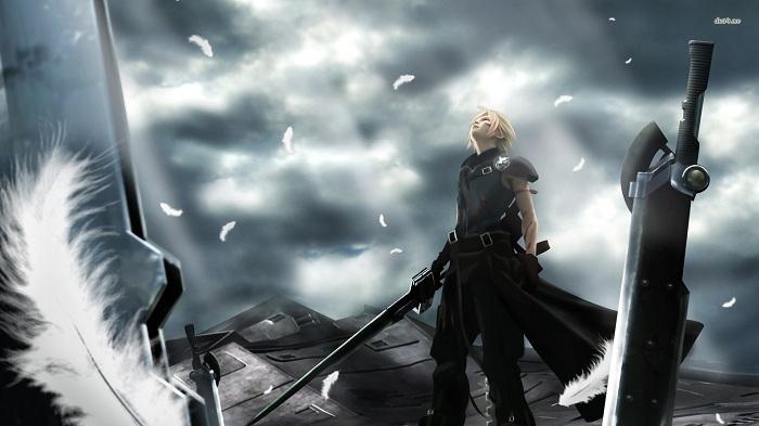 Kwikku, Cloud Strife Final Fantasy VII Advent Children
