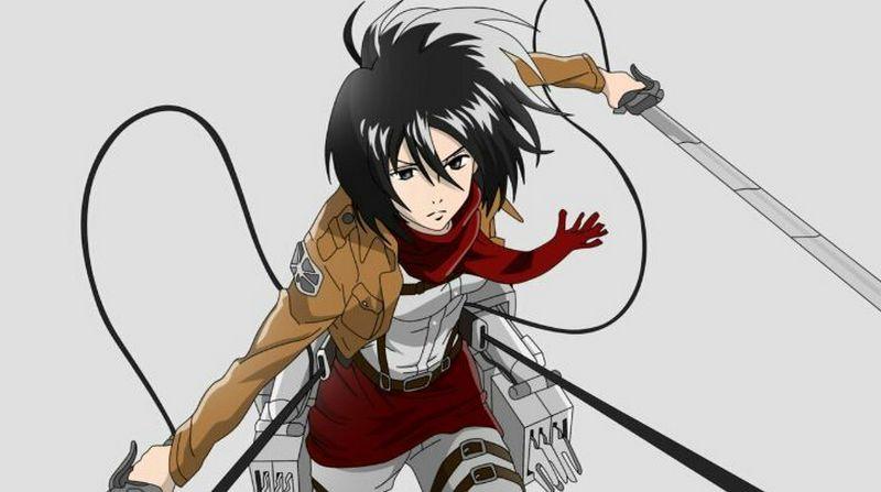 Kwikku, Mikasa Attack on Titan