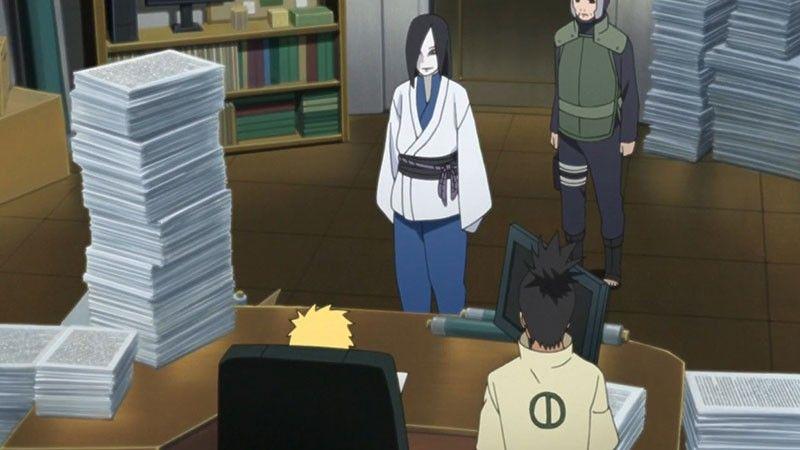 Kwikku, Orochimaru  Naruto