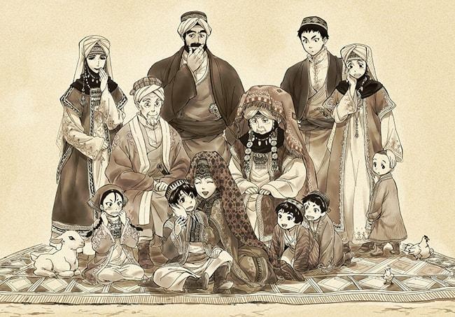 Kwikku, A Brides Story Kaoru Mori