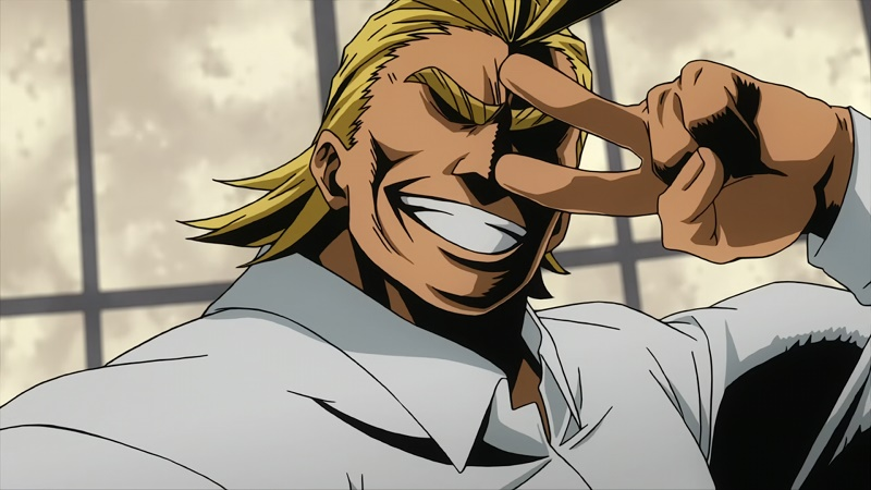 Kwikku, All Might