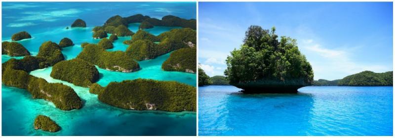 Kwikku, Rock Islands Palau