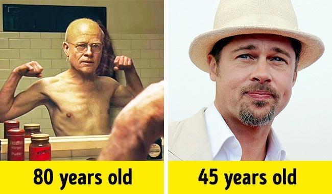 Kwikku, Benjamin Button  Brad Pitt
