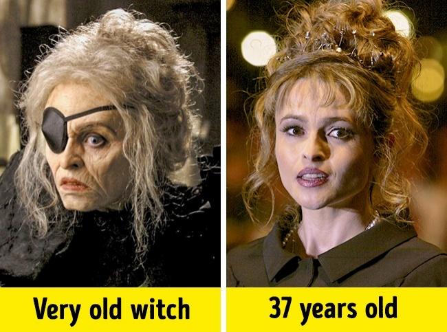 Kwikku, The Witch  Helena Bonham Carter
