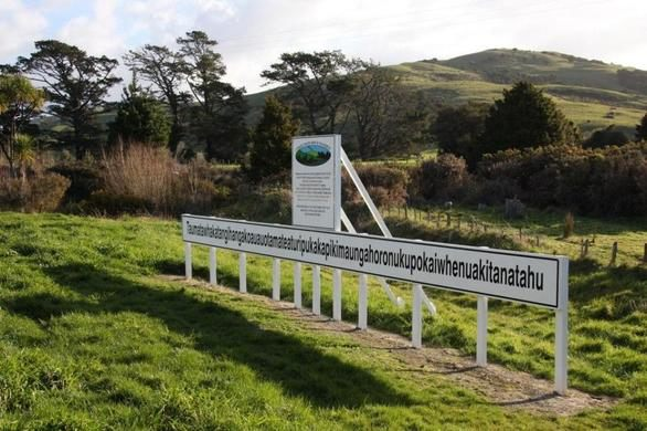 Kwikku,  Taumatawhakatangihangakoauauotamateaturipukakapikimaungahoronukupokaiwhenuakitanatahu Selandia Baru
