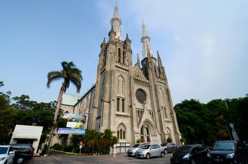 Kwikku, Gereja Katedral Jakarta