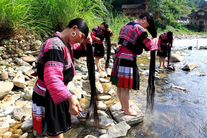 Kwikku, Desa Huangluo Tiongkok