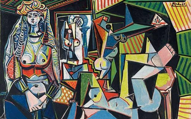 Kwikku, Les Femmes dAlger Version O oleh Pablo Picasso