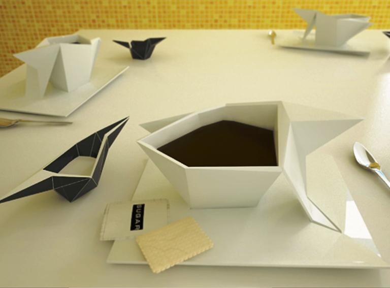 Kwikku, Origami Cup