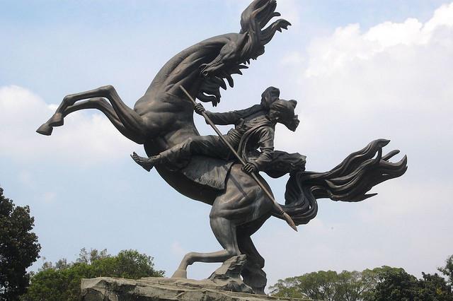 Kwikku, Patung Diponegoro