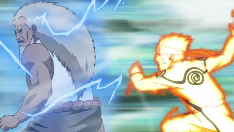 Kwikku, Naruto merupakan ninja dengan kecepatan tinggi