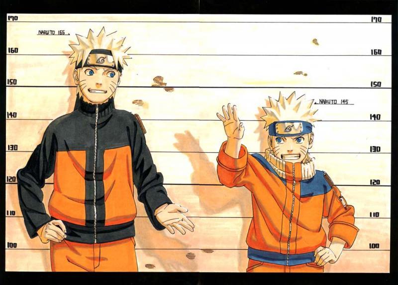 Kwikku, Naruto memiliki penampilan yang cukup menarik