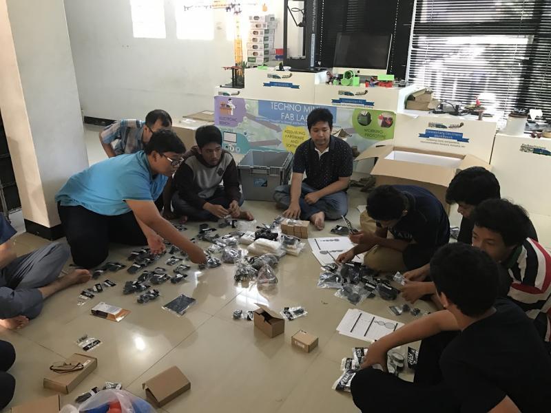 Kwikku, Bergabung Dalam Tim Indonesia Robotic Team