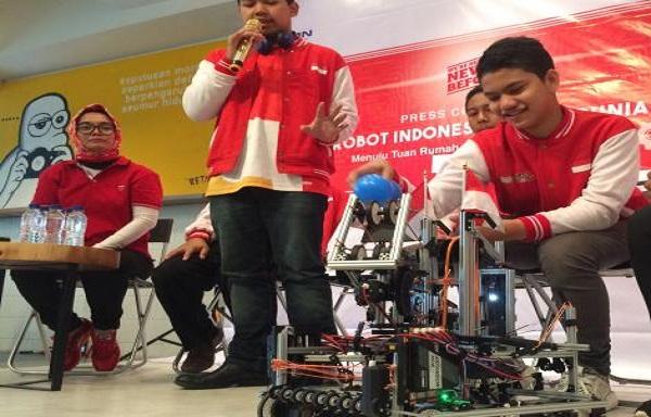 Kwikku, Kreasi Indonesia Robotic Team Menciptakan Robot Solusi Akses Air Bersih