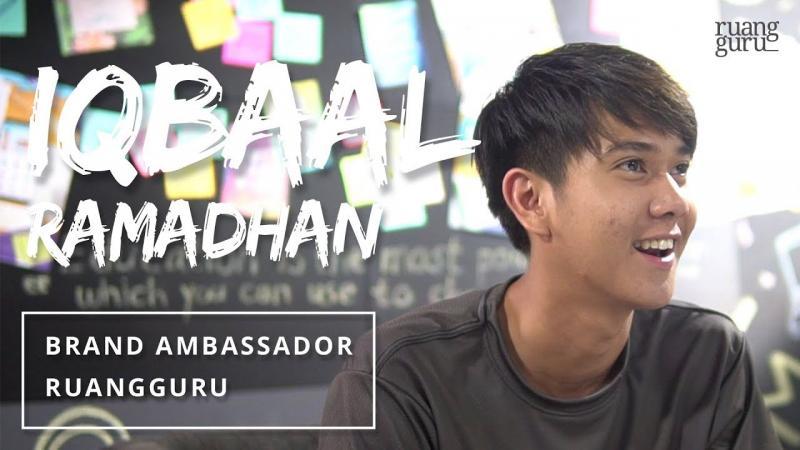 Kwikku, Ambassadornya Iqbaal CJr Lho