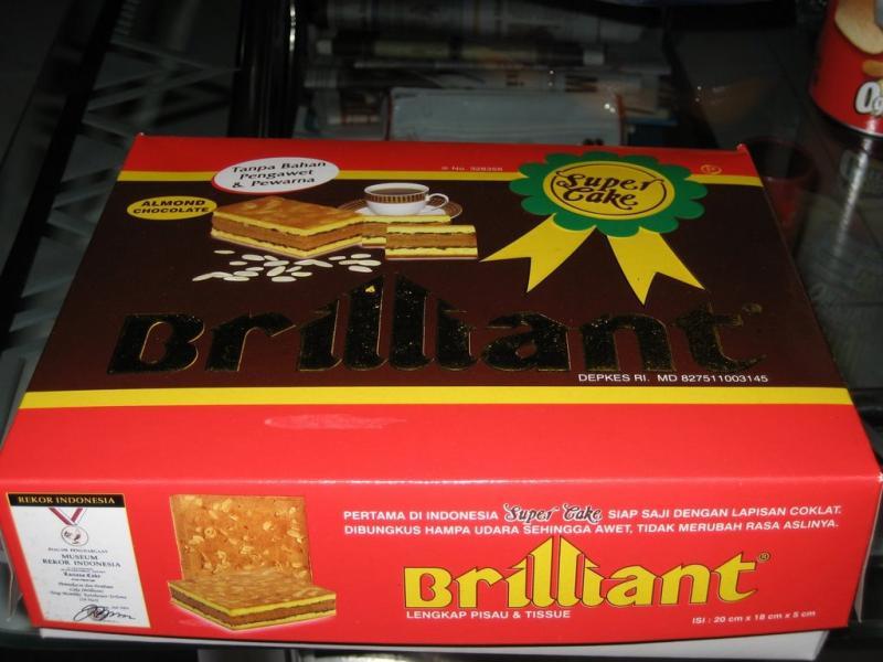 Kwikku, Brilian Super Cake