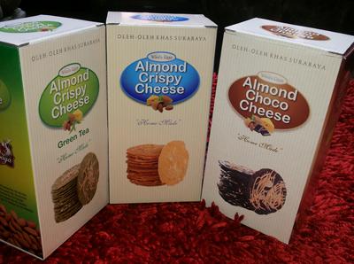 Kwikku, Almond Crispy