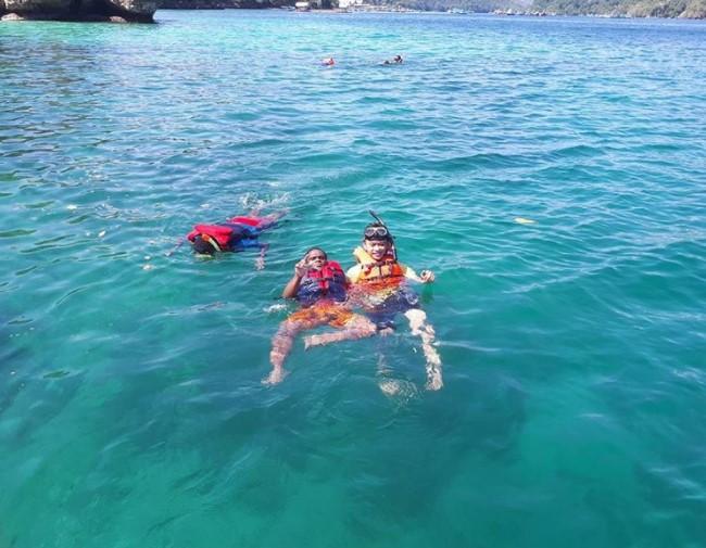 Kwikku, Asyik Buat Snorkeling