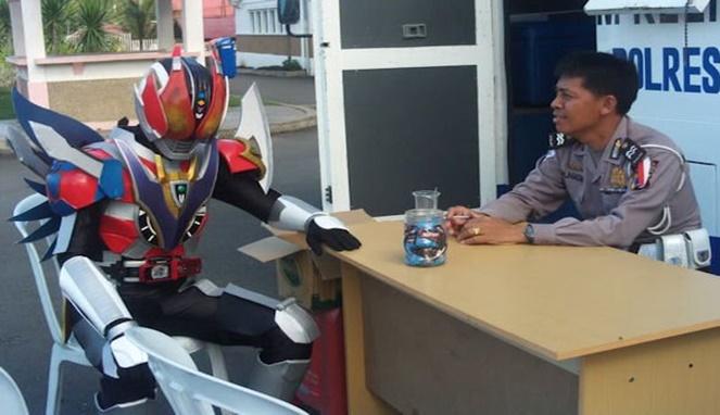 Kwikku, Kamen Rider Juga Manusia
