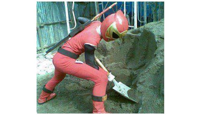 Kwikku, Power Ranger Kehilangan Kerjaan