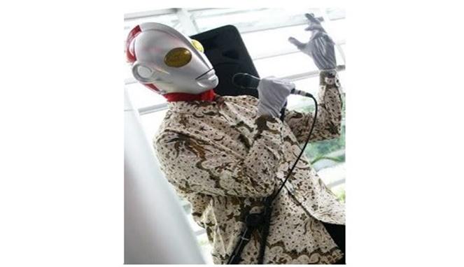 Kwikku, Ultraman Pidato