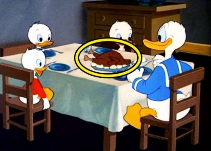 Kwikku, Donald Duck And Family