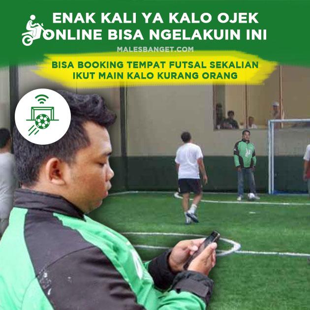 Kwikku, Booking Tempat Futsal Sekalian Maen
