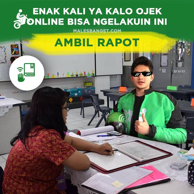 Kwikku, Ngambil Raport