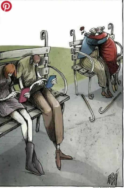 Kwikku, Kebanyakan pasangan yang bertemu jaman sekarang menghabiskan kebersamaan mereka dengan ponsel masingmasing tanpa ada quality time