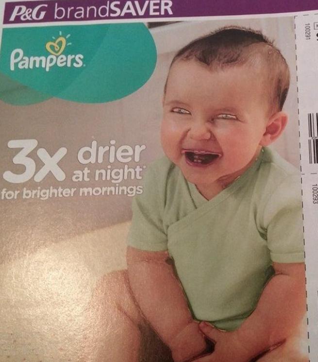 Kwikku, Bayi yang seharusnya lucu ini menjadi mengerikan ya