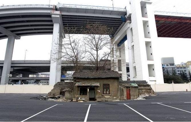 Kwikku, Yang satu ini adalah rumah satusatunya yang berdiri disebuah area setelah pembangunan kompleks Shanghai World Expo Tapi akhirnya Shi Yuji sang pemilik rumah merelakan bangunan ini digusur