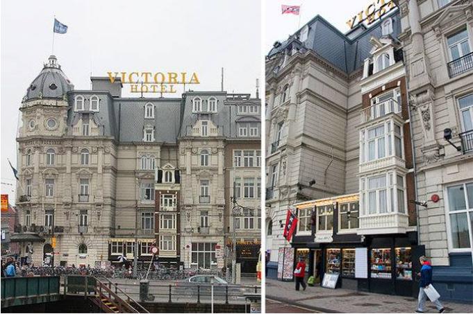 Kwikku, Hotel Victoria di Belanda ini nggak bisa membeli rumah mungil yang satu ini Sekarang rumah tersebut beralih fungsi menjadi toko cindera mata