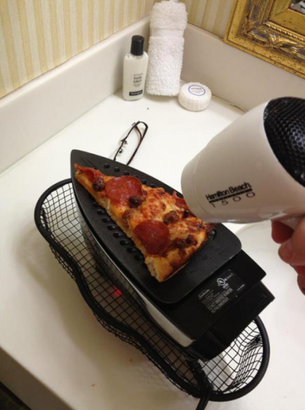 Kwikku, Demi sepotong pizza