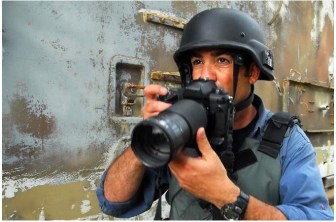 Kwikku, Wartawan Perang