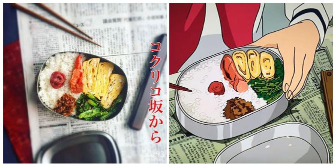 Kwikku, My neighbor Totoro bekal makan siang