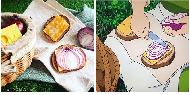Kwikku, Kisah Earthsea sandwich