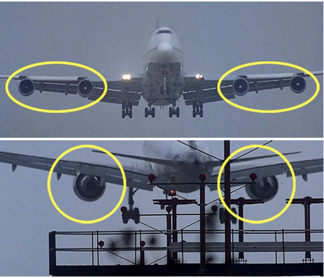 Kwikku, The Usual Suspects pada saat mendarat ke landasan pesawat ini memiliki  mesin Beberapa detik kemudian pesawat ini berubah dan memiliki  mesin saja