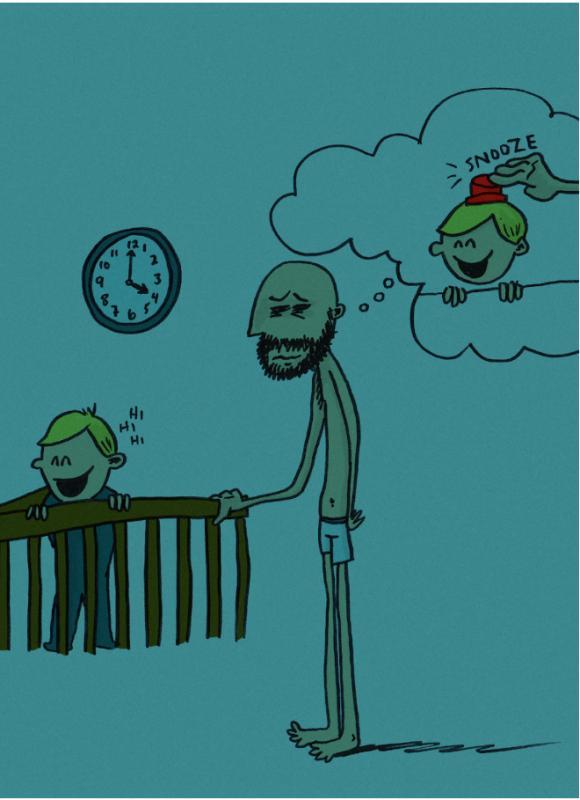 Kwikku, Nggak jarang mereka juga ikut begadang kalau si bayi gak tidurtidur