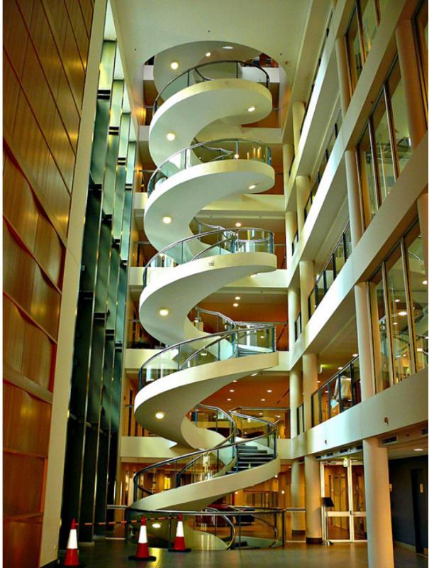 Kwikku, Tangga spiral unik lainnya berada di Garvan Institute Sidney Australia