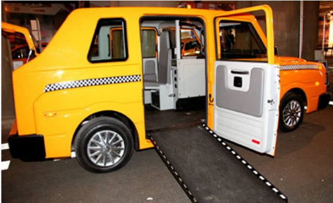 Kwikku, Ada juga taksi yang dilengkapi karpet layaknya penyambutan