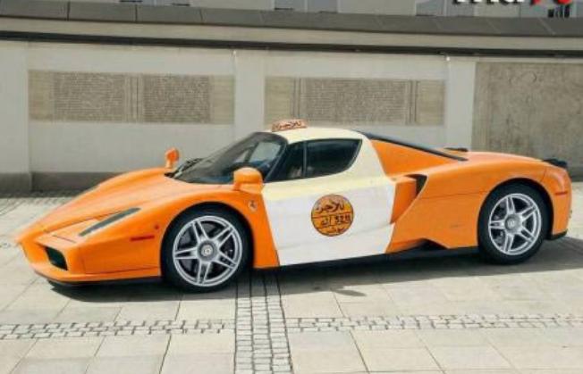 Kwikku, Taksi Ferrari Enzo ini bisa kamu naiki ketika mengunjungi Arab Saudi