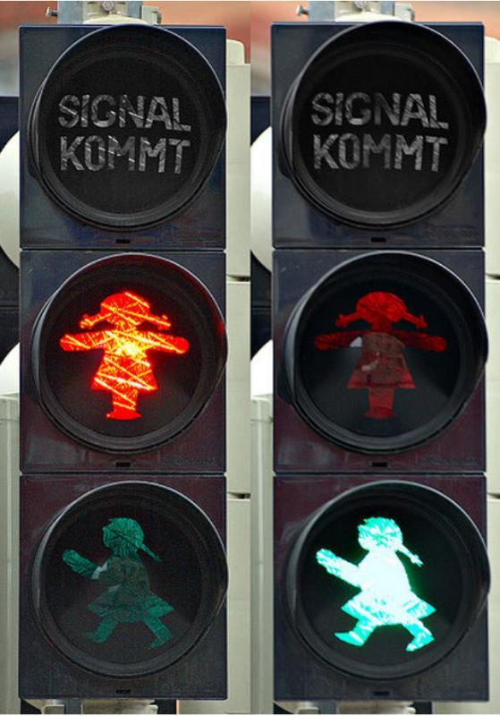 Kwikku, Jerman juga memiliki lampu TL yang unik seperti anak perempuan yang imut seperti ini