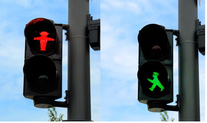 Kwikku, Masih di Jerman selain bergambar anak perempuan ada juga lampu TL bergambar anak lakilaki yang ceria