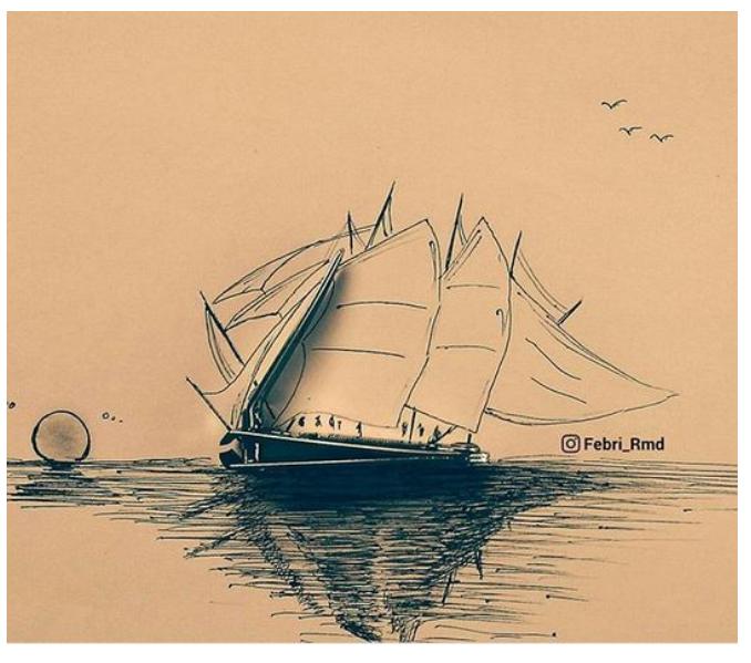 Kwikku, Berlayar sampai keujung dunia