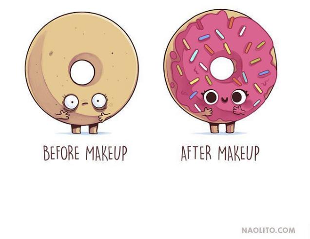 Kwikku, Make up mengubah segalanya