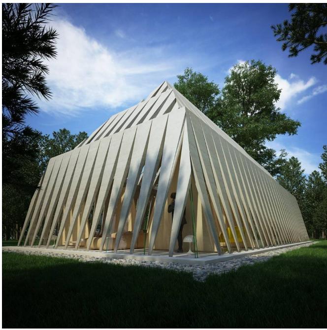 Kwikku, Piramida versi modern