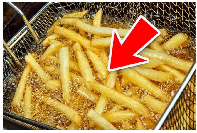 Kwikku, Selain kentang asli kandungan french fries yang lain terdiri dari  zat termasuk lemak zat adiktif dan penguat rasa