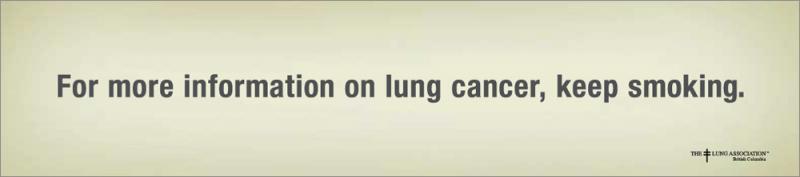 Kwikku, Peringatan bagi paruparu bukan orangnya untuk tidak merokok